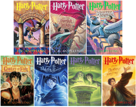 Image result for harry potter books images